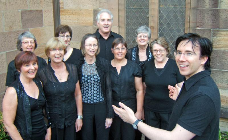 di Canto members led by Jassen Rose